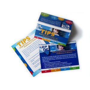 Custom business card design - Folded