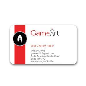 Custom Business Card Design GameArt