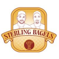 Custom Logo Design - Sterling Bagels