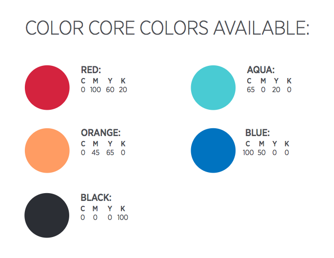 Announcement Core Colors