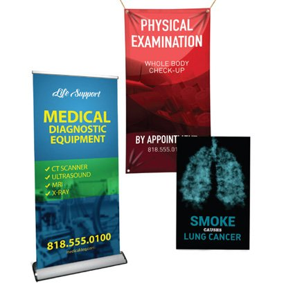Banners for Medical & Healthcare Industry in Las Vegas