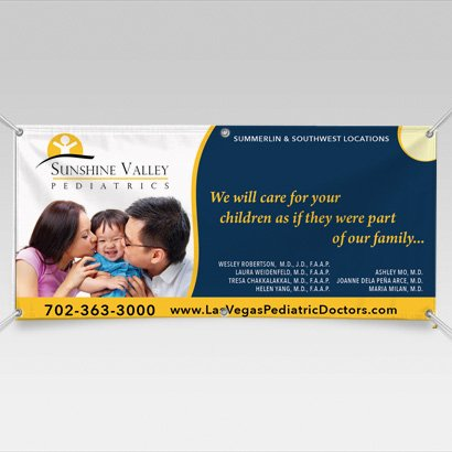 Banners for Medical & Healthcare Industry
