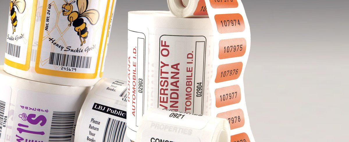 Durable Consecutive Barcode Labels