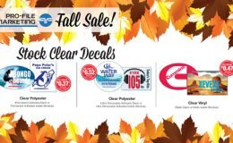 Clear Decals Sale