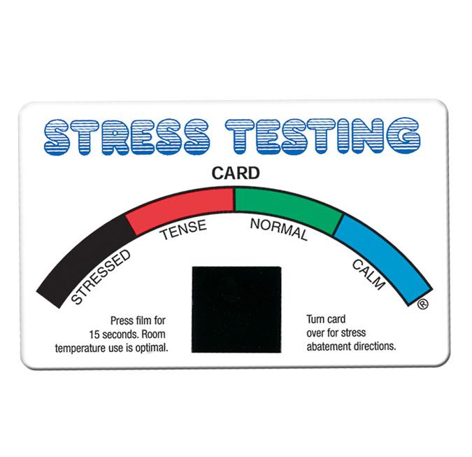 custom stress testing card