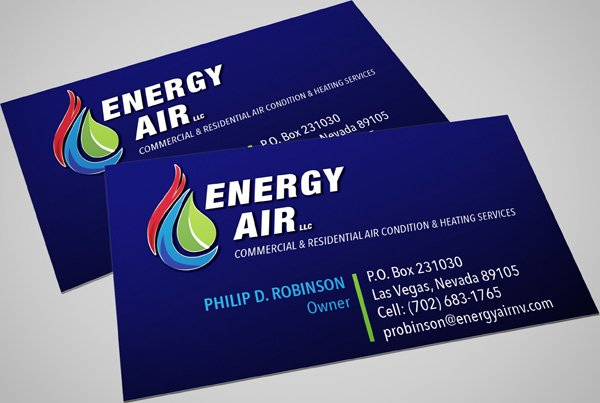 Las Vegas Business Card designer