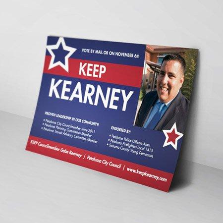 Las Vegas Political Campaign Postcards