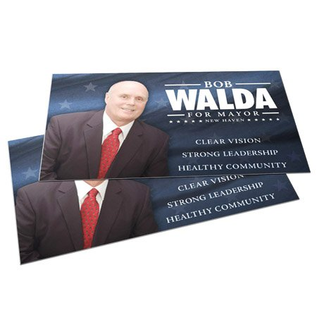 Las Vegas Political Campaign Business Cards