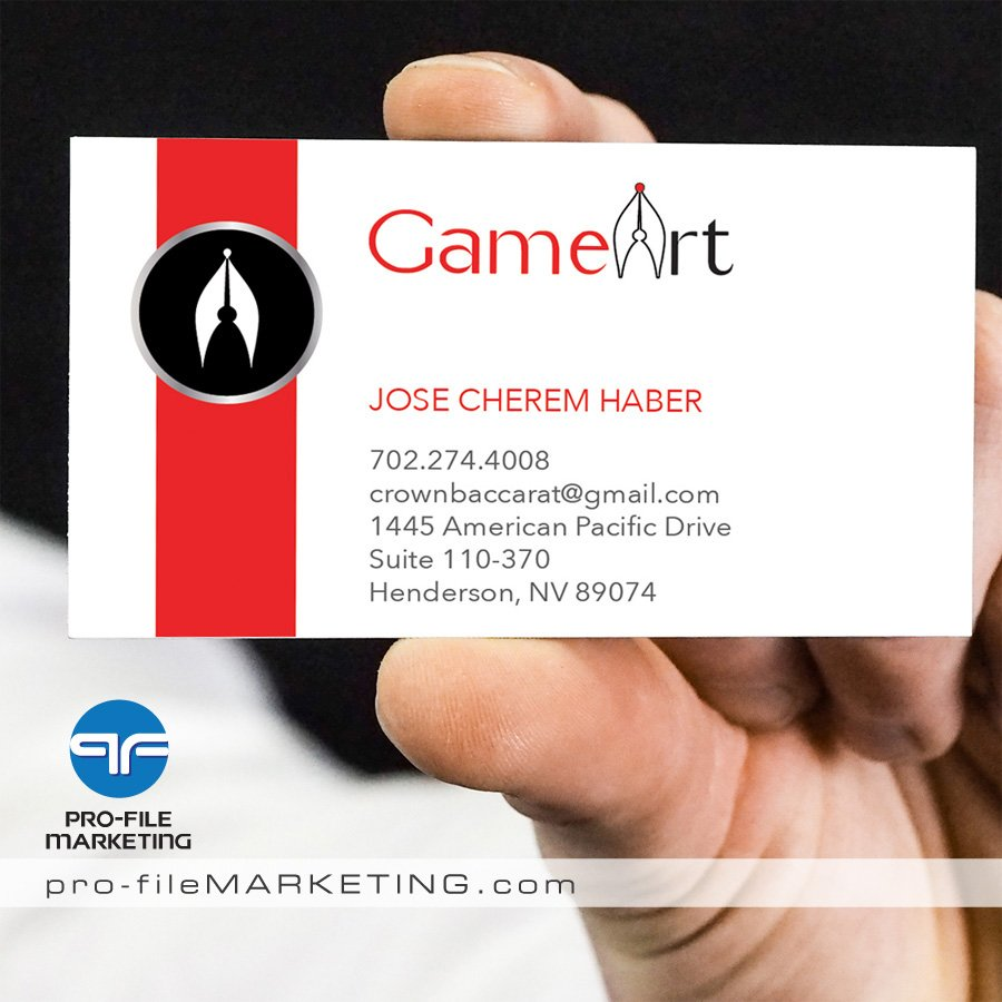 Las Vegas Business Card Printing and Design