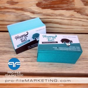 Las Vegas Business Cards with Painted Edge
