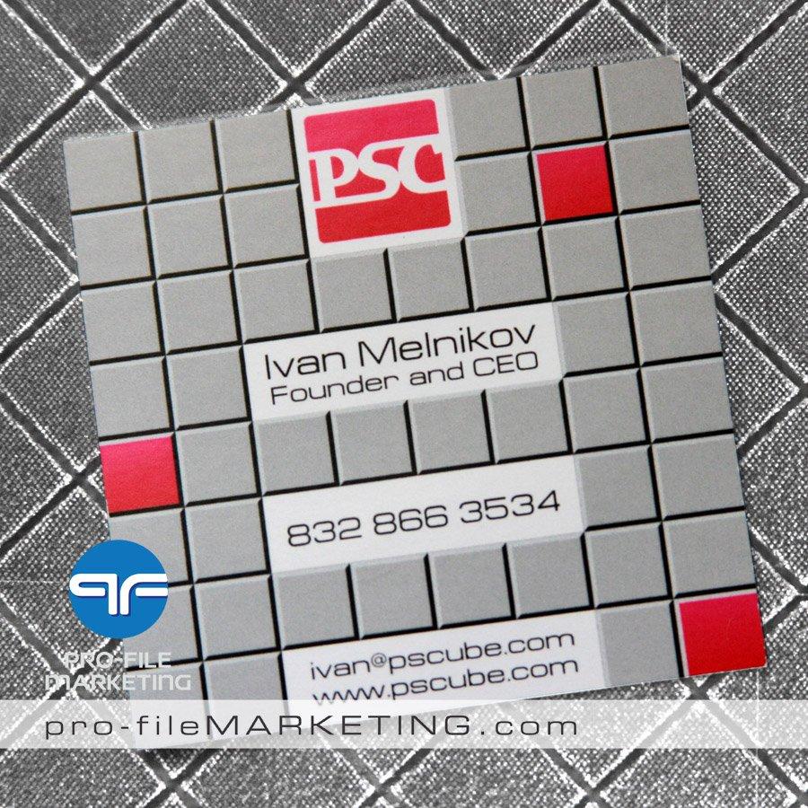 Square business cards las vegas
