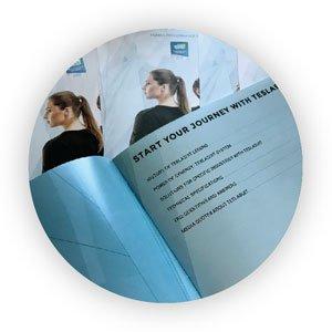 Brochure Printing Las Vegas Gloss finish