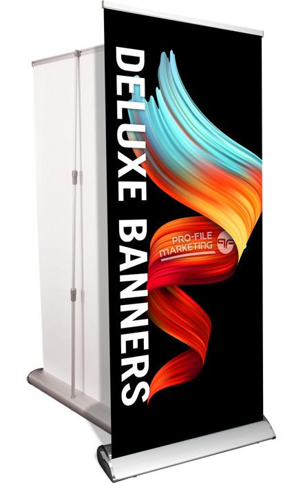 Deluxe Banner Stand, Retractable