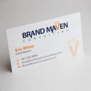 Las Vegas Business Cards Raised Spot UV