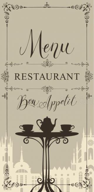 Disposable Restaurant Menus